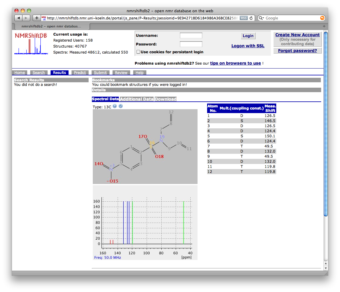 Sixty Four Free Chemistry Databases Depth First