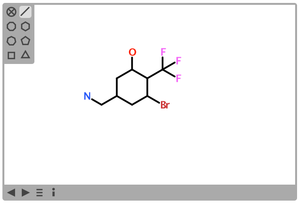 Atom Labels Now Available In Chemwriter 2 Depth First
